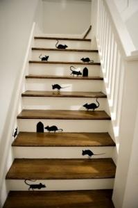 escalera conquistada